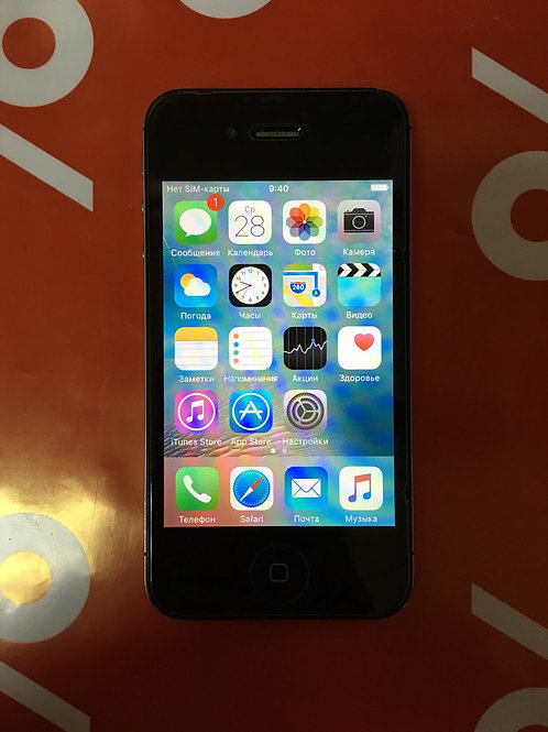 Apple iPhone 4S Black 16 Гб (md234ll/a)