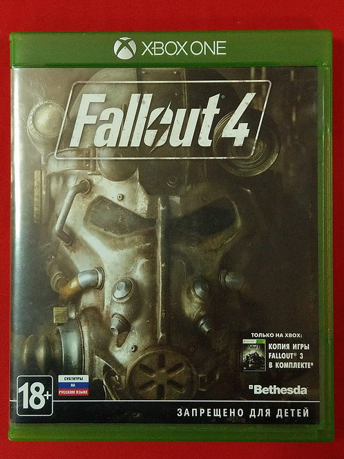 Диск для Xbox ONE Fallout 4