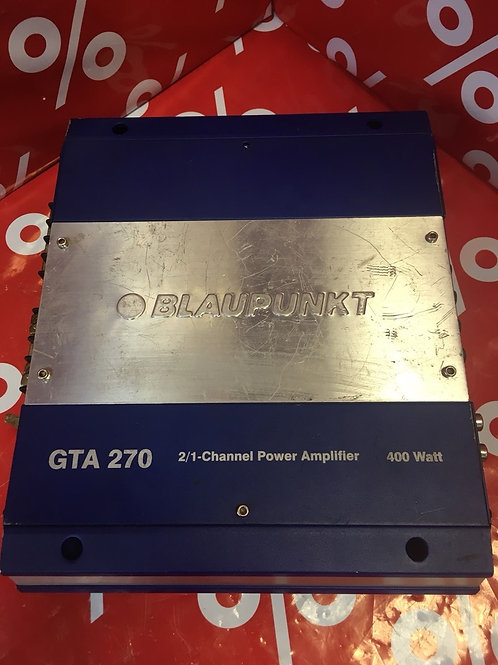 Автомобильный усилитель Blaupunkt GTA 270
