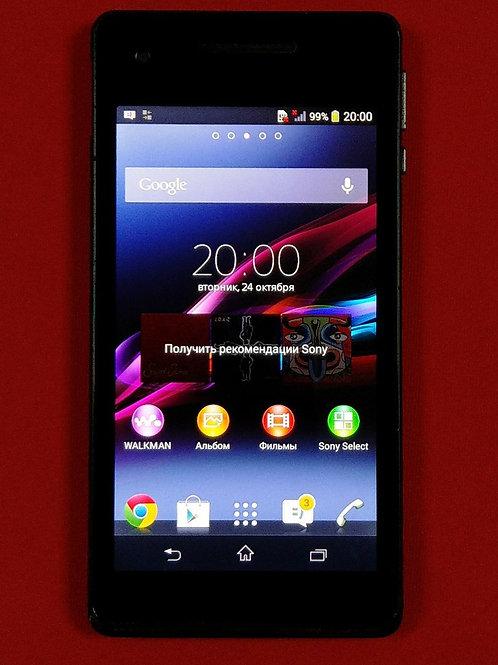 Sony Xperia V Black (13 мп/4G/NFC/GPS/глонасс)