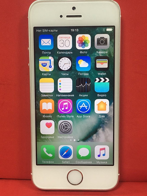 Apple iPhone 5S 16 Гб (me433ru/a) White