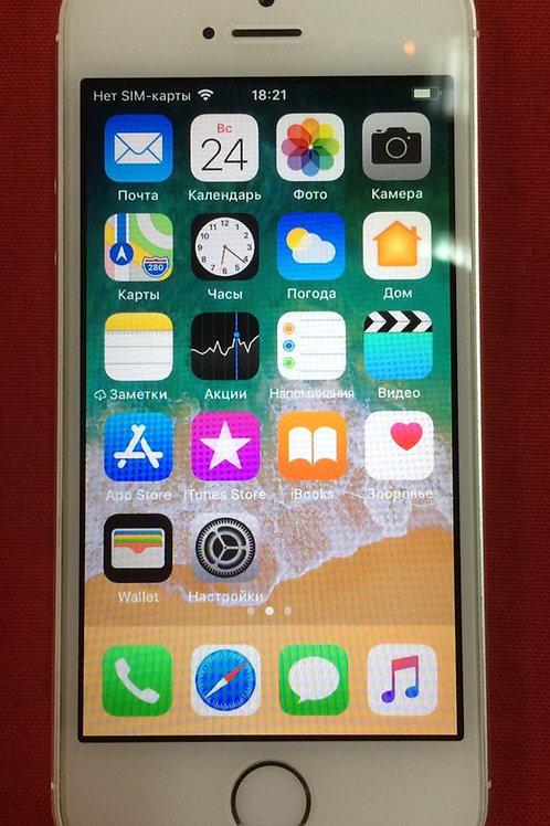 Apple iPhone 5S 16Gb Silver (ME433RU/A) Комплект