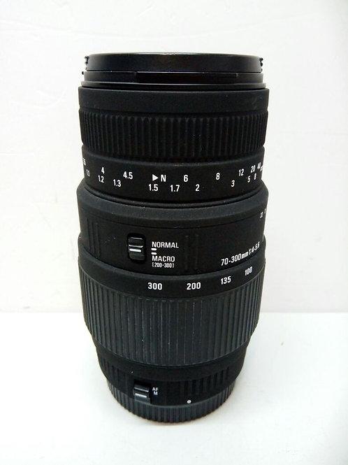 Sigma AF 70-300mm f/4-5.6 DG macro Canon EF