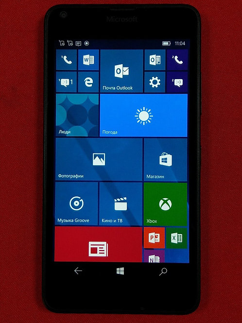 Microsoft Lumia 640 LTE Black (RM-1075)