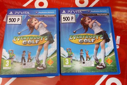 PS Vita sony Everybody's Golf