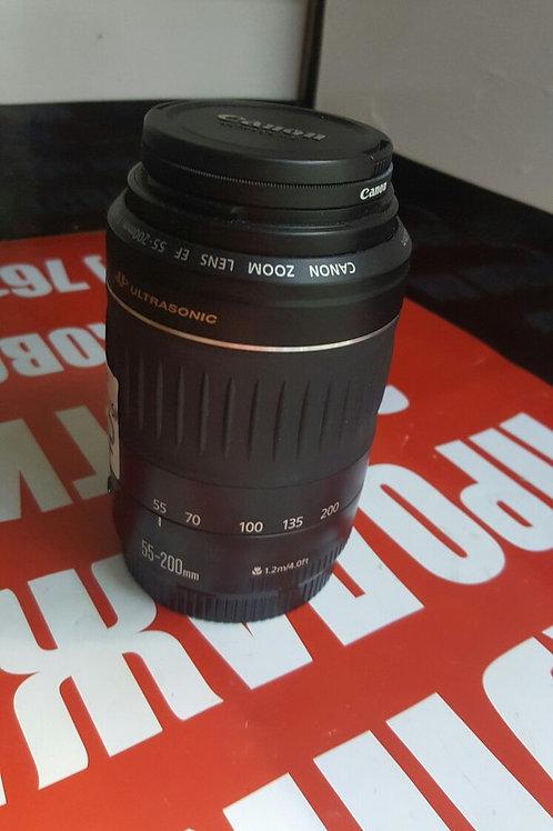 Canon Ultrasonic EF55-200mm f/4.5-5.6 2 USM