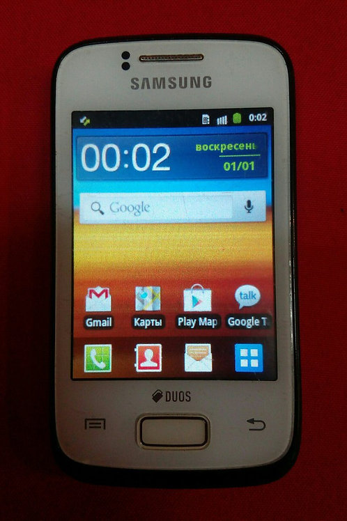 Samsung GT-S6102 Android 2.3/3G/2Sim