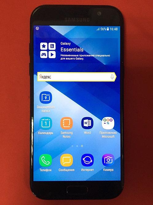 SAMSUNG Galaxy A5 (2017) SM-A520F Black (комплект)