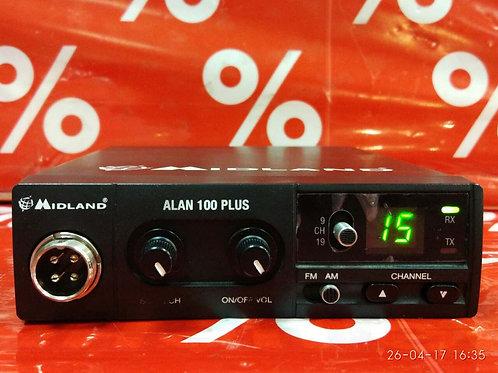 Автомобильная радиостанциия Midland Alan 100plus