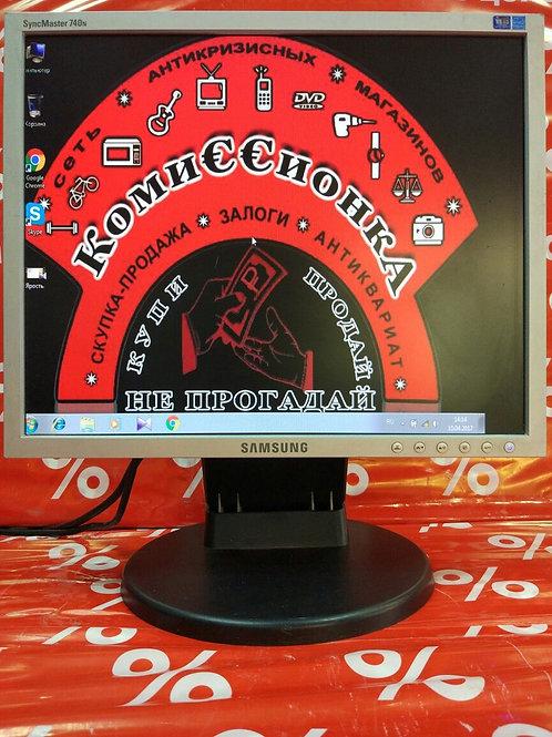 "ЖК-монитор 17"" Samsung SyncMaster 740N"