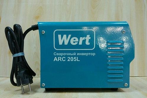 Сварочный инвертор Wert ARC 205L (Новая)