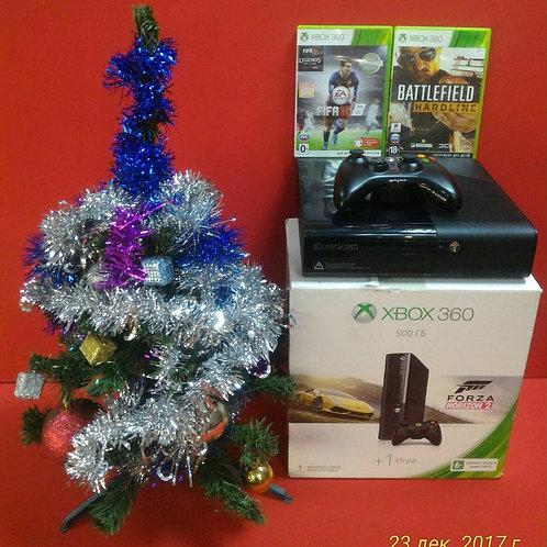 Microsoft Xbox 360 E 500Gb\Комплект+игра