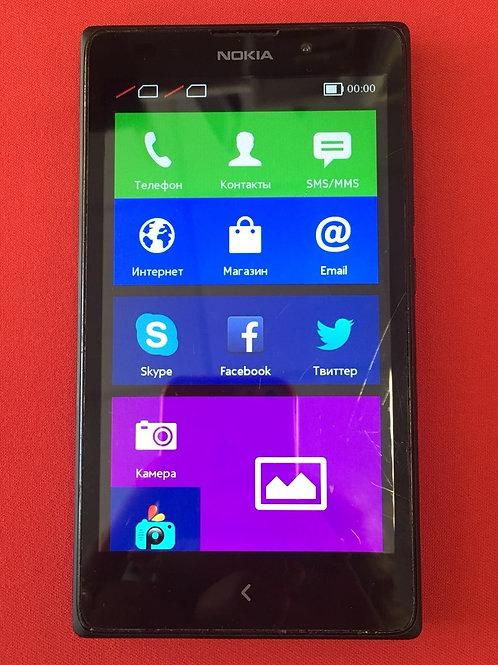 Nokia XL Dual sim (rm-1030) Black