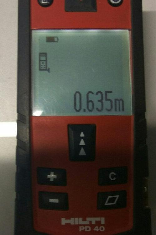 Дистанционный лазерный измеритель Hilti PD 40
