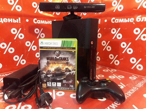 Microsoft Xbox 360 E 500 гб + Кинект