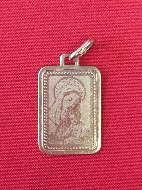 Кулон золотой 585 пробы Богородица