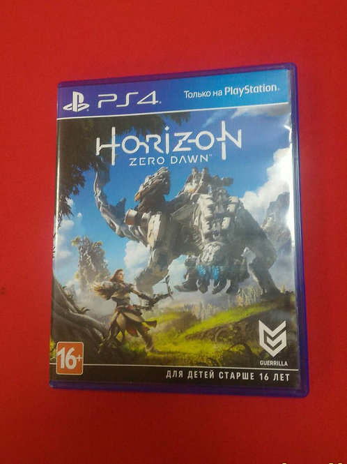 Horizon Zero Dawn (русская версия) PS4
