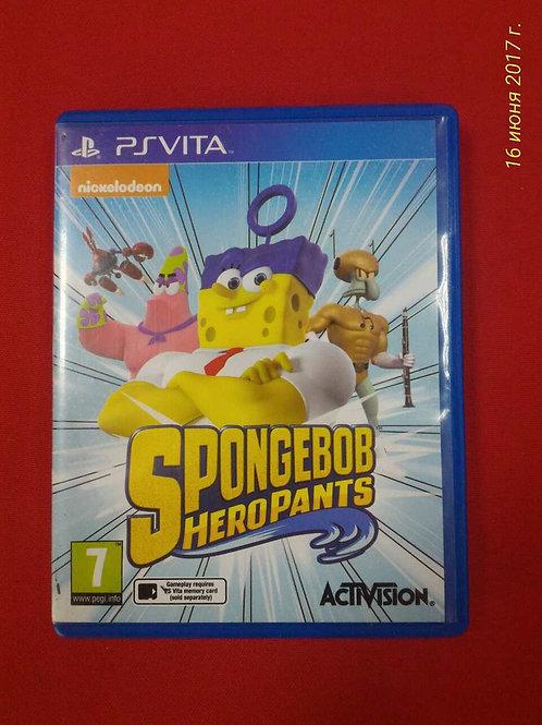 Spongebob heropants PS Vita