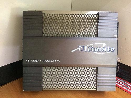 Автомобильный усилитель мощности Ultimate TA4320