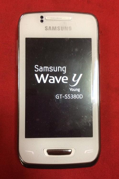 Samsung Wave Y GT-S5380 White