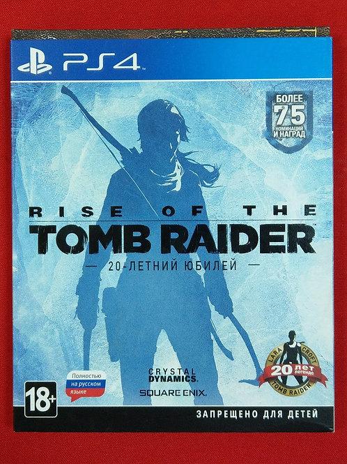 Диск для PS4 Игра для PS4 Rise of the Tomb Raider