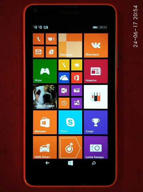 Microsoft Lumia 640 3G DS Black (RM1077)