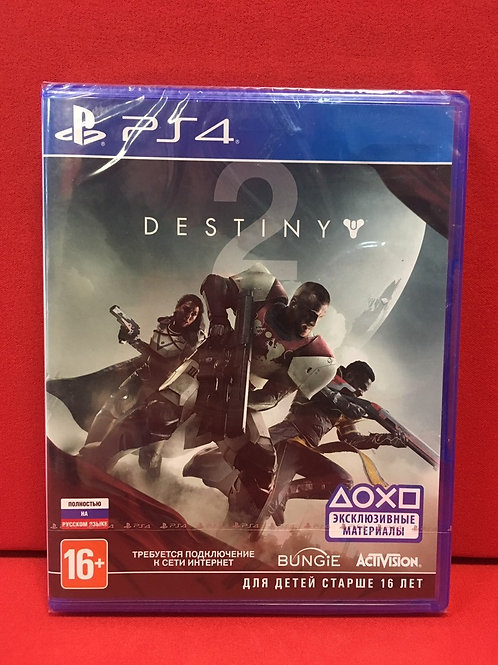 Видеоигра для PS4 Destiny 2/Русский язык/New