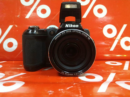 Фотокамера с суперзумом Nikon Coolpix L120/сумка