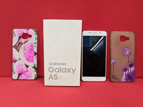 SAMSUNG Galaxy A5 (2016) SM-A510F White (Комплект)