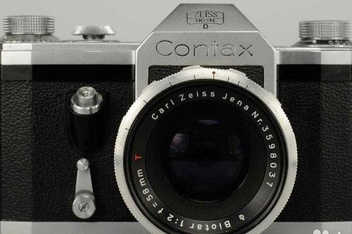 Contax Zeiss Ikon D + Biotar 58mm f/2.0