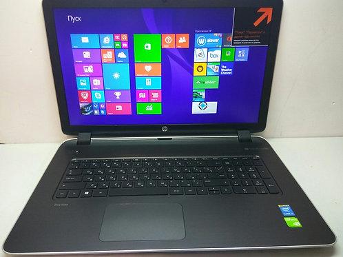 "Ноутбук c экраном 17.3"" HP pavilion 17-f159nr"