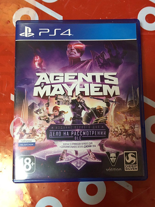 Игра для PS4 Agents of Mayhem