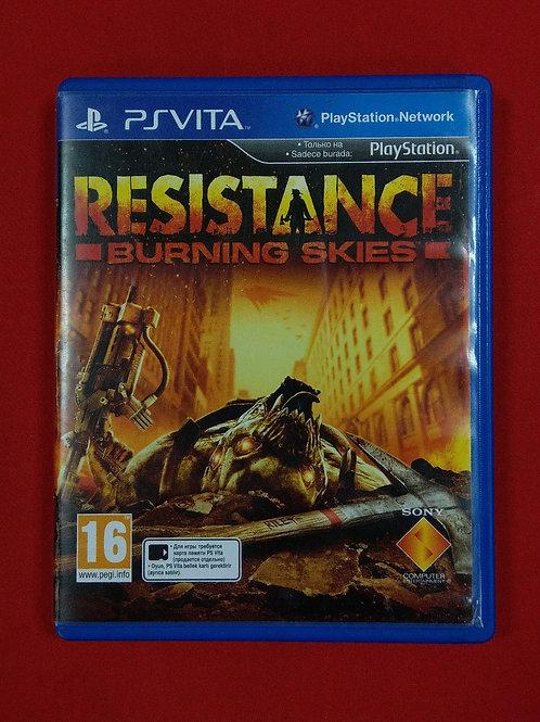 Игра для PS Vita Resistance Burning Skies