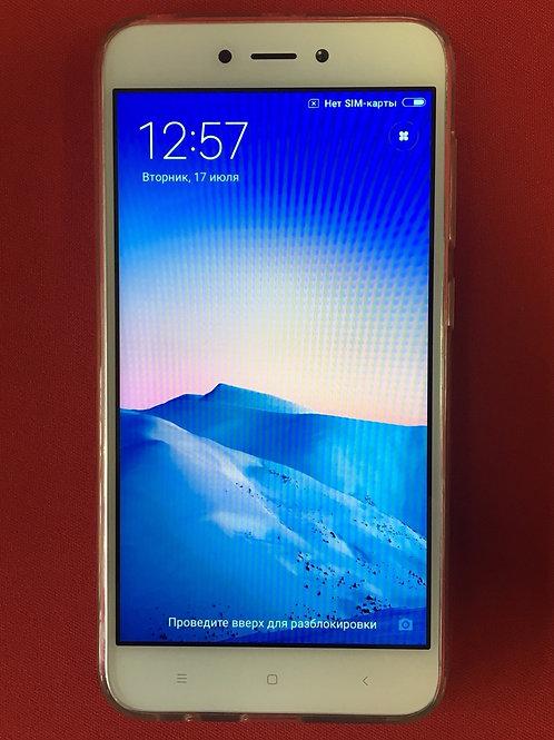 Xiaomi Redmi 5A White 16 Гб/2 Гб Озу + чехол