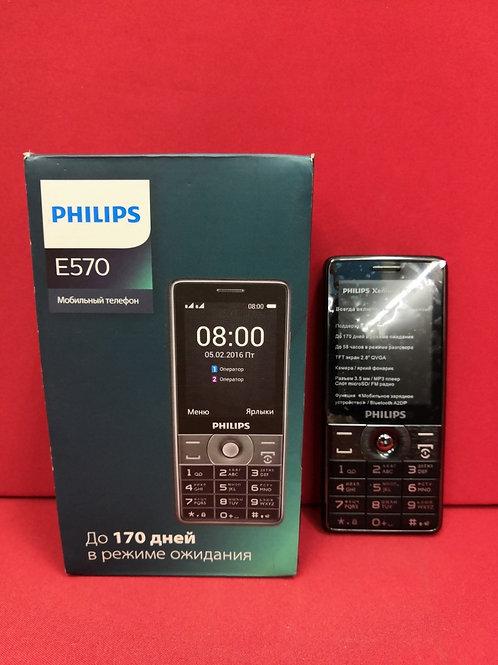 Philips Xenium E570 Black (Комплект)