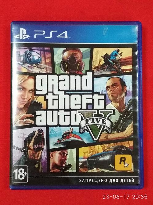 Видеоигра для PS4 GTA 5 (Grand Theft Auto V)