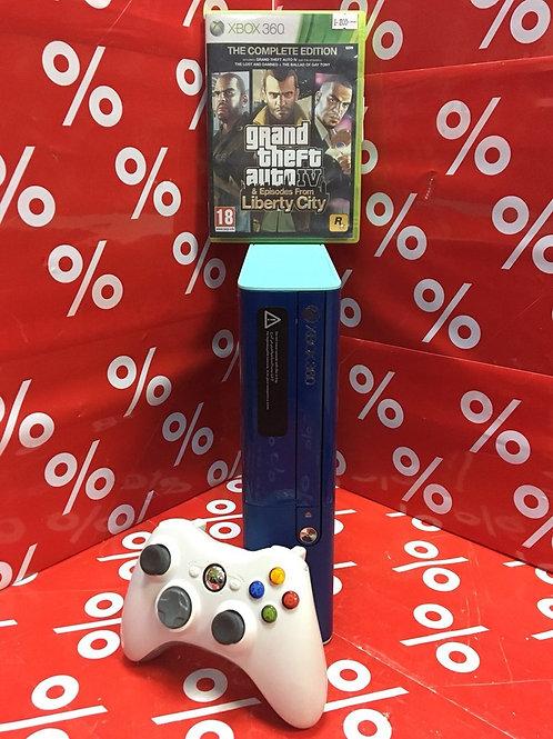 Xbox 360 E (1538) Blue Edition 500 Гб +1 Диск