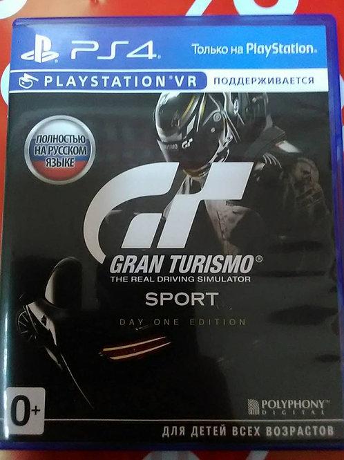 Игра для PS4 Gran Turismo Sport Day One Edition