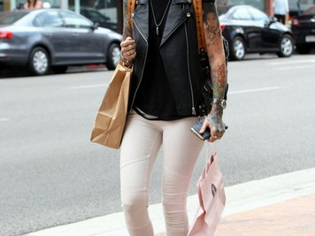 Ruby Rose spotted in Beverly Hills