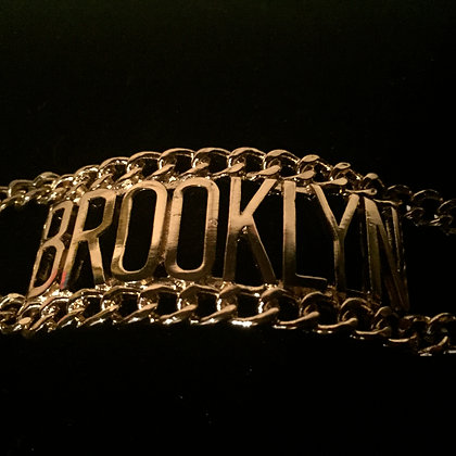 BROOKLYN DOUBLE CHAIN BRACELET