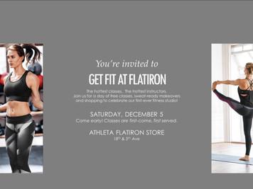 GET FIT AT ATHLETA FLATIRON December 5th