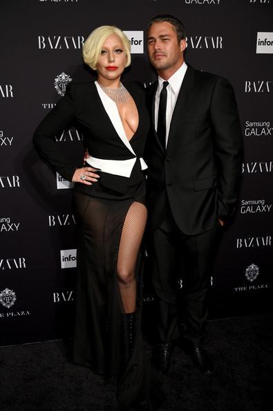 Lady Gaga and Taylor Kinney attend Samsung GALAXY.jpg
