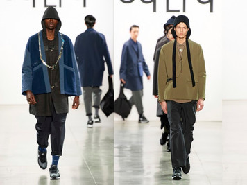 oqLiq Kicks Off NYFW with its FW2020 Street Style Collection at Spring Studios