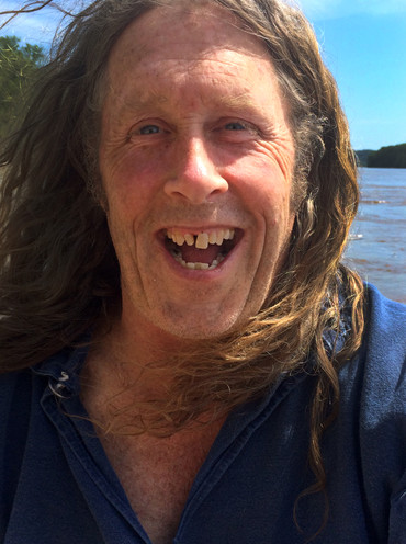 """On a short ride with Knotty on the Missouri river, Clark jokes that if King fell off of the canoe, he would not jump in to save her. """"I make everyone wear a life jacket if they ride in the canoe,"""" Clark said. """"No exceptions."""""""