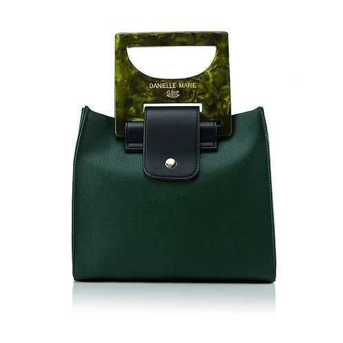 The HANNA Shopper Bag - Forest Green