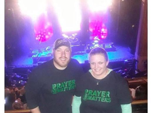 #PrayerMatters at the Newsboys concert!🙏🏻
