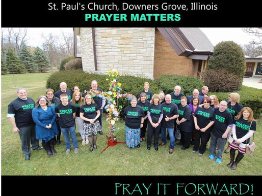 St. Paul's Church in Downers Grove, Illinois! 💚