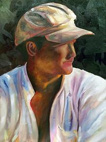 Self Portrait in Rome