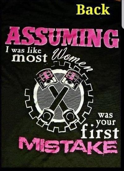 Assuming I'm like most women
