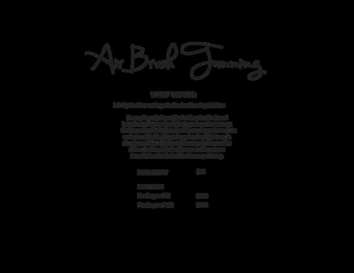 Air Brush Tanning Pricing